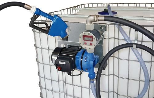 Bomba de transfega para adblue com conta litros para for Depositos de 1000 litros